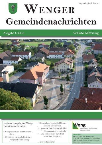 (1,85 MB) - .PDF - Weng im Innkreis, Oberösterreich