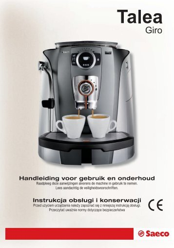 Handleiding Princess Coffee Maker And Grinder : DCM485 Seal Insert - Seattle Coffee Gear