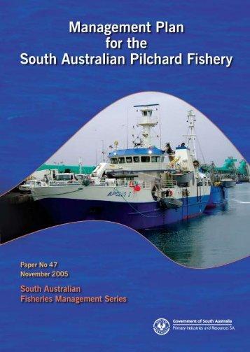 Sardine (Pilchard) Fishery Management Plan - PIRSA - SA.Gov.au