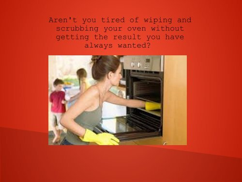 Fantastic Oven Cleaners Melbourne