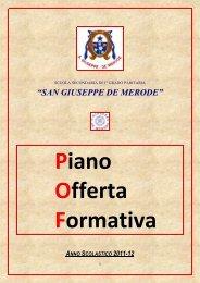 POF medie 2011-12.pdf - Collegio San Giuseppe - Istituto De Merode