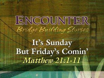 Matthew 21:1-11