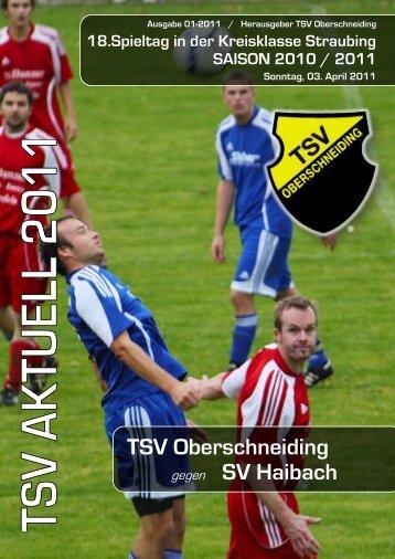 2. Mannschaft - des TSV Oberschneiding