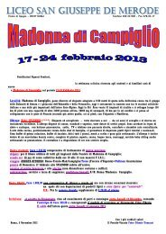 neve liceo 2013.pdf - Collegio San Giuseppe - Istituto De Merode