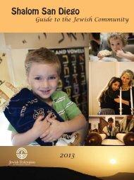 Shalom San Diego 2013 DRAFT.indd - Jewish Federation of San ...