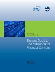Strategy Guide to Risk Mitigation for Financial Services - Bitpipe