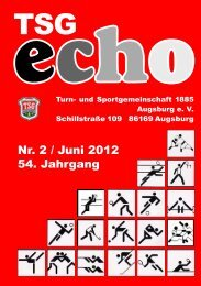 ETB® (European Tae Bo) - TSG 1885 Augsburg