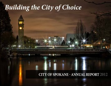 2012 Annual Report - City of Spokane