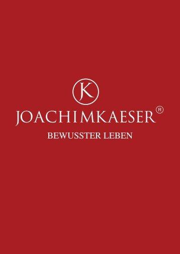 Joachim Käser - BEWUSSTER LEBEN