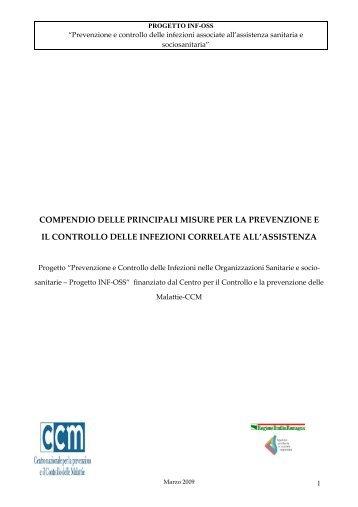 compendio delle principali misure per la prevenzione e il controllo ...