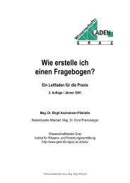 Wie erstelle ich einen Fragebogen? - Dr. Birgit Aschemann