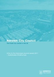 Norwich City Council - The MJ Awards