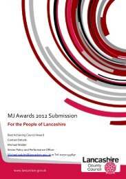 MJ Awards 2012 Submission - The MJ Awards