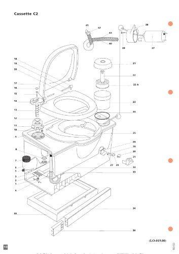 porta potti 165 instructions