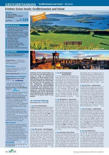 Erlebnis Grüne Inseln: Großbritannien und Irland - Irish-net
