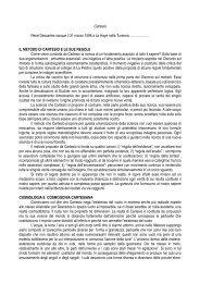 IL METODO DI CARTESIO E LE SUE REGOL - Collegio San ...