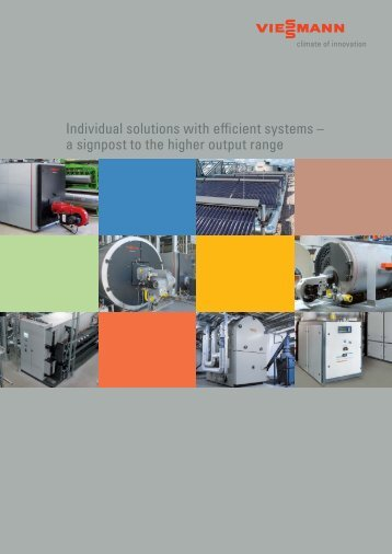 Individual solutions with efficient systems - Viessmann
