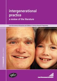 Intergenerational Practice: a review of the literature - Centre For ...