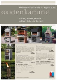 GartenKamine - Kiwatt Kamine-Fliesen