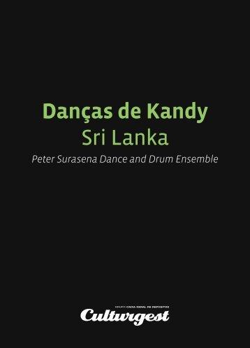 Danças de Kandy Sri Lanka - Culturgest