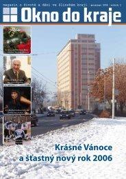 Krásné Vánoce a šťastný nový rok 2006 - Okno do kraje