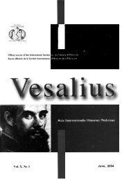 Vol. X, No 1 - Bibliothèque interuniversitaire de médecine