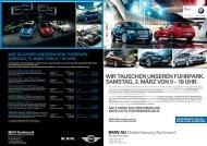 Angebotsflyer: Dienst- und Werkswagen. (PDF, 2584k) - BMW ...