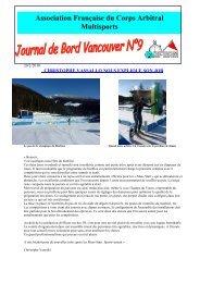 journal de bord N°9 - AFCAM