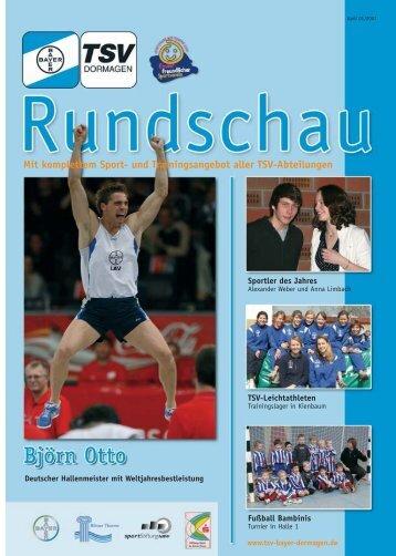 Rundschau 1-27-04-2007_62.qxp - TSV Judokas Dormagen