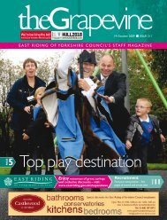 Top play destination - East Riding Council