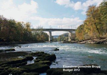 Budget 2012 - Brugg