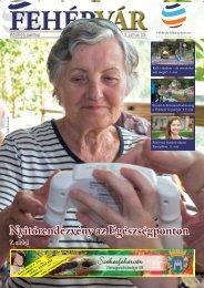 Nyitórendezvény az Egészségponton 7. oldal - Székesfehérvár