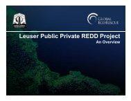 Leuser Public Private REDD Project An Overview - GCF