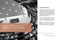 Projektudvikling med særlig vægt på finansiering - Plesner