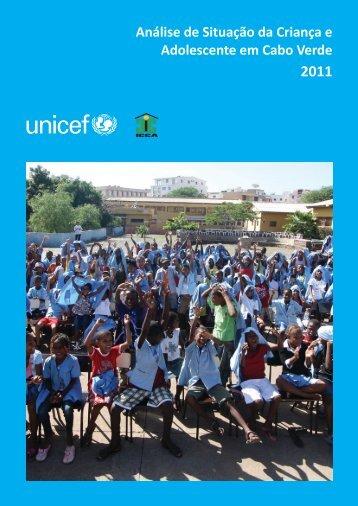 Análise de Situação da Criança e Adolescente em Cabo Verde