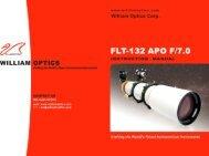 FLT 132 10 Pages - William Optics