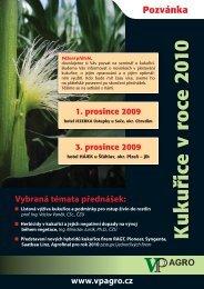 Kukuřice v roce 2010 - VP Agro