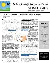 2010 Spring - Division of Undergraduate Education - UCLA