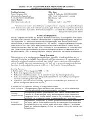 Introduction to Community-based Internships Page 1 of 3