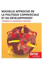 nouvelle approche de la politique commerciale et du développement