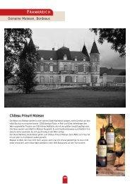 Domaine Malesan, Bordeaux Château Prieuré Malesan - TrinkFest