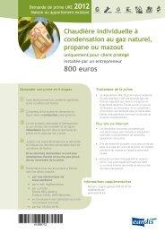 800 euros - Eandis