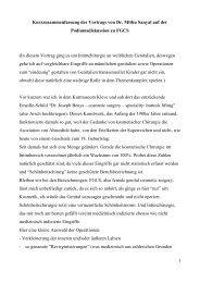 Transkript des Impuls-Vortrags von Mithu Sanyal - FPZ