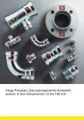 Prospekt Viega Prestabo: Presssysteme aus verzinktem Stahl in den ... - Seite 6