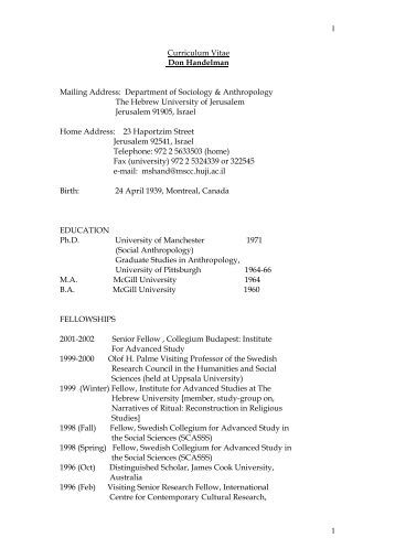 curriculum vitae of raquib ahmed ph d mailing address