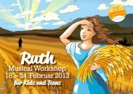 Musical Workshop 18. – 24. Februar 2013 - FEG Zürich-Helvetiaplatz