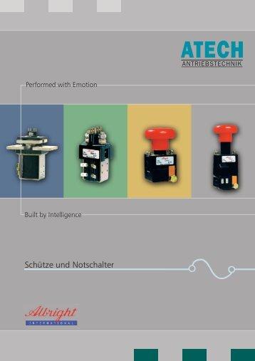 Albright International Product Range - Atech Antriebstechnik