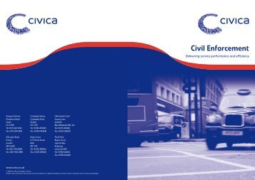 Enforcement Sector Overview - Civica