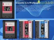 Cassette LiveWallpaper - RunMob
