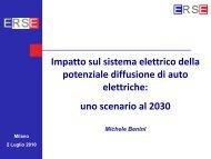 Impatto sul sistema elettrico della potenziale diffusione di auto ... - Iefe